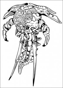 coloring page Power Rangers (64)
