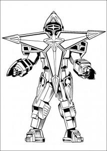 målarbok Power Rangers (65)