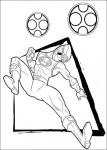 kleurplaat Power Rangers (66)