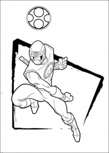 kleurplaat Power Rangers (67)