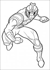 kleurplaat Power Rangers (68)