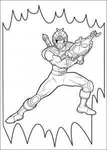 kleurplaat Power Rangers (69)