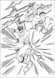 coloring page Power Rangers (7)