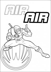 coloring page Power Rangers (71)