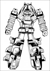 coloring page Power Rangers (72)