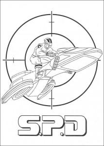 kleurplaat Power Rangers (75)
