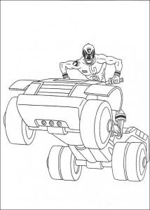 kleurplaat Power Rangers (76)