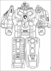 coloring page Power Rangers (8)