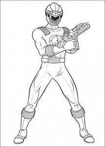målarbok Power Rangers (84)