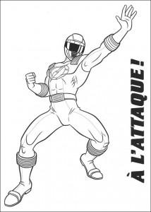 kleurplaat Power Rangers (85)