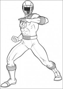 coloring page Power Rangers (87)