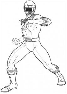 kleurplaat Power Rangers (87)