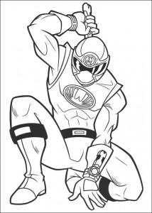 kleurplaat Power Rangers (89)