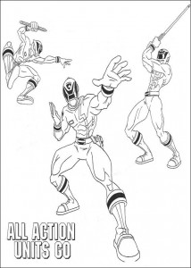 coloring page Power Rangers (9)