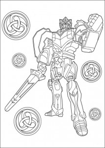 coloring page Power Rangers (92)