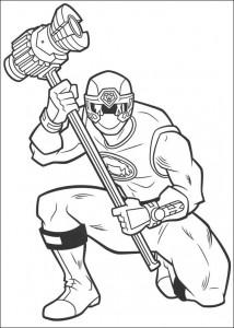 målarbok Power Rangers (93)