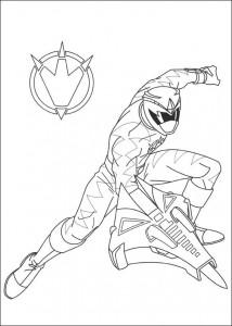 målarbok Power Rangers (96)