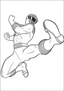 målarbok Power Rangers (98)