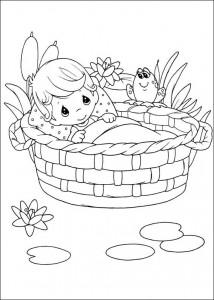 coloring page Koselige øyeblikk (3)