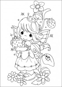 coloring page Koselige stunder