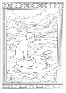 coloring page Prince of Egypt (11)