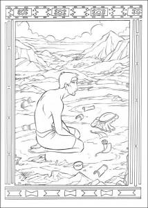 målarbok Prince of Egypt (11)