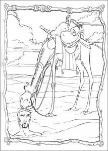 coloring page Prince of Egypt (12)
