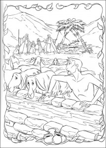 coloring page Prince of Egypt (13)