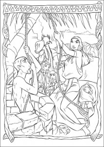 coloring page Prince of Egypt (14)