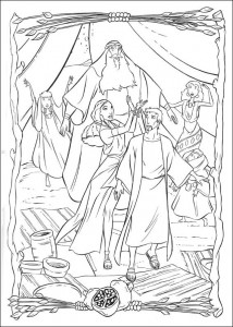 coloring page Prince of Egypt (15)