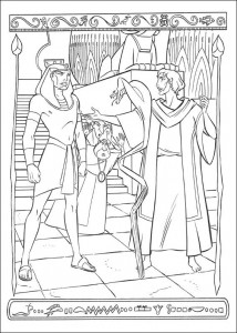 coloring page Prince of Egypt (18)