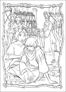 coloring page Prince of Egypt (19)
