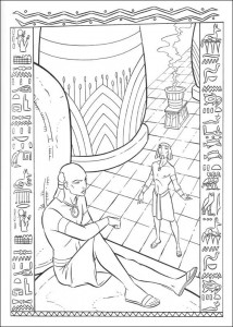 coloring page Prince of Egypt (2)