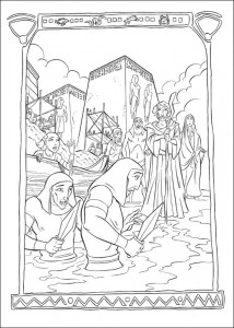 coloring page Prince of Egypt (20)