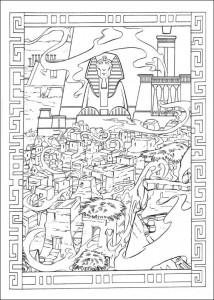 kleurplaat Prins van Egypte (23)