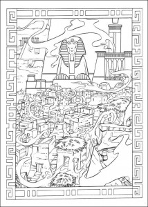 målarbok Prince of Egypt (23)