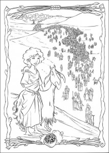 coloring page Prince of Egypt (24)