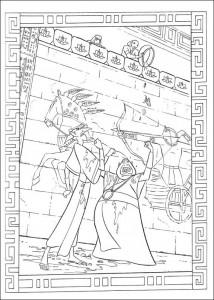 kleurplaat Prins van Egypte (3)