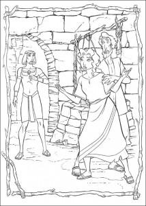 kleurplaat Prins van Egypte (5)