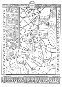 coloring page Prince of Egypt (6)