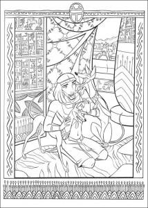 målarbok Prince of Egypt (6)
