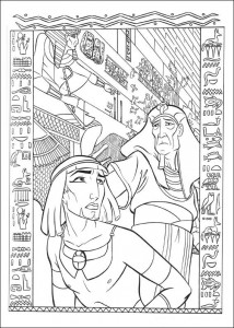 coloring page Prince of Egypt (8)