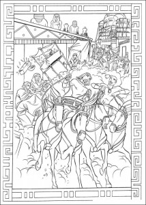 coloring page Prince of Egypt