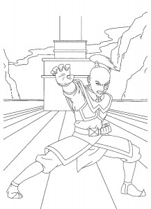 kleurplaat Prins Zuko (3)