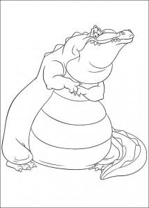 pagina da colorare Principessa e la rana (1)