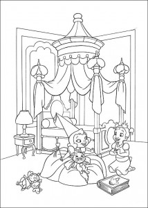 coloring page Princess and the frog (16)