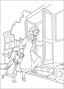 coloring page Princess and the frog (18)