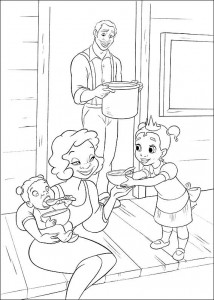 coloring page Princess and the frog (20)