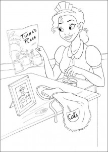 coloring page Princess and the frog (21)