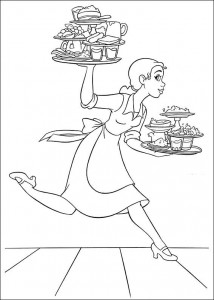 coloring page Princess and the frog (22)